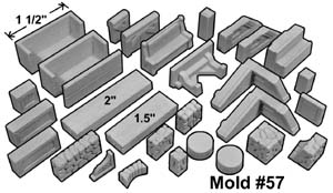 Hirst Arts #057: Inn Building Accessories Mold