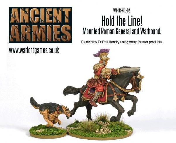 Hail Caesar: Imperial Romans: Hold The Line! Mounted Roman General