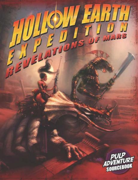 Hollow Earth Expedition: Revelations Of Mars Gamemaster Screen