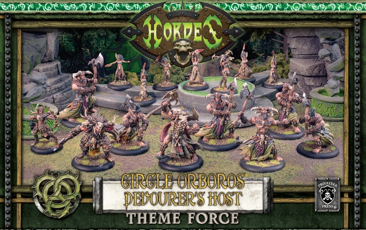 Hordes: Circle Orboros (72109): Tharn Theme Box (Army Box)