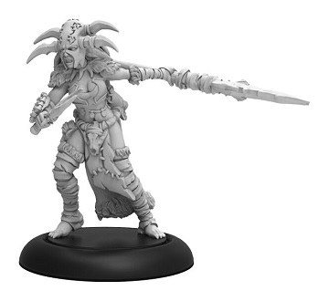 Hordes: Circle Orboros (72110): Tharn Blood Shaman - Warcaster Attachment
