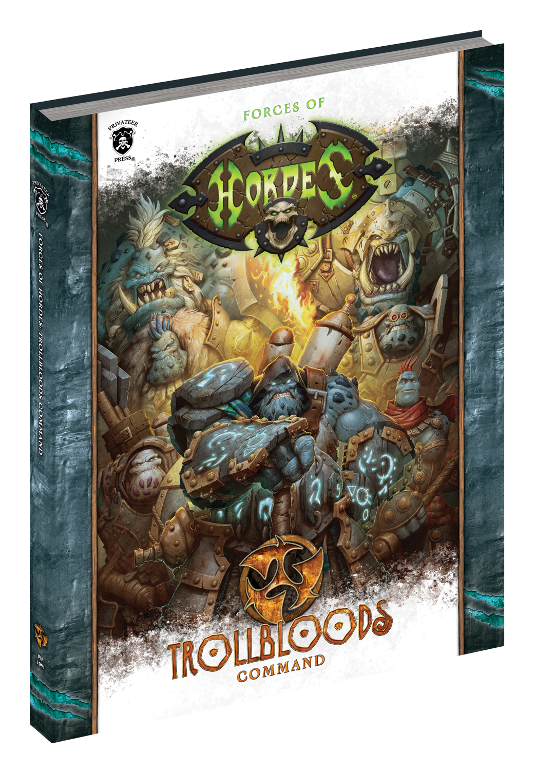 Hordes: Forces of Hordes: Trollbloods Command (HC)
