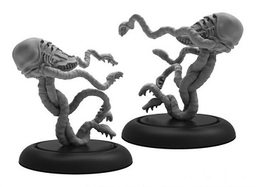 Warmachine: Infernal (38011): Foreboder Lesser Horror