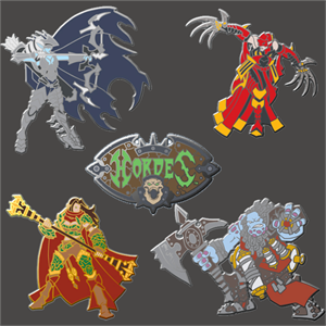 Hordes: Lylyth, Shadow of Everblight Pin
