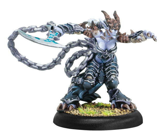 Hordes: Legion of Everblight (73106): Fyanna, Torment of Everblight - Legion Strider Warlock