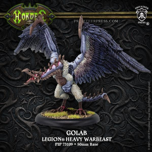 Hordes: Legion of Everblight (73109): Golab – Legion Character Heavy Warbeast