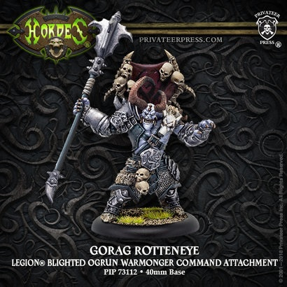 Hordes: Legion of Everblight (73112): Gorag Rotteneye – Legion Character Solo