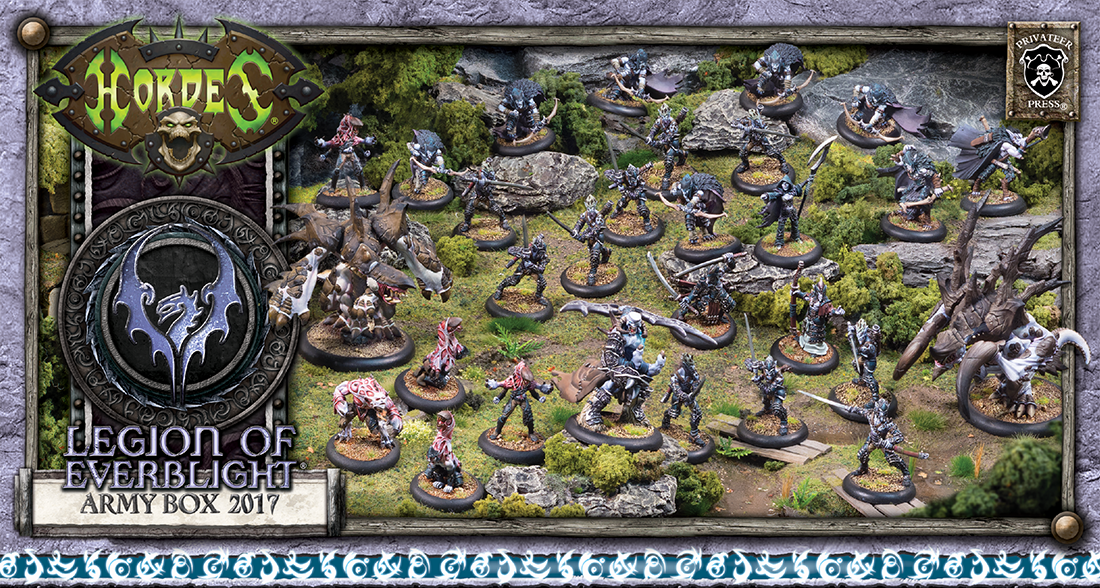 Hordes: Legion of Everblight (73991): Army Box 2017 [BUNDLE DEAL]