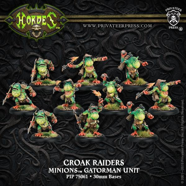 Hordes: Minions (75061): Croak Raiders