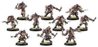 Hordes: Minions (75067): Farrow Brigands/Farrow Commandos Unit