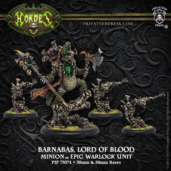 Hordes: Minions (75074): Barnabas, Lord of Blood – Minion Epic Warlock Unit