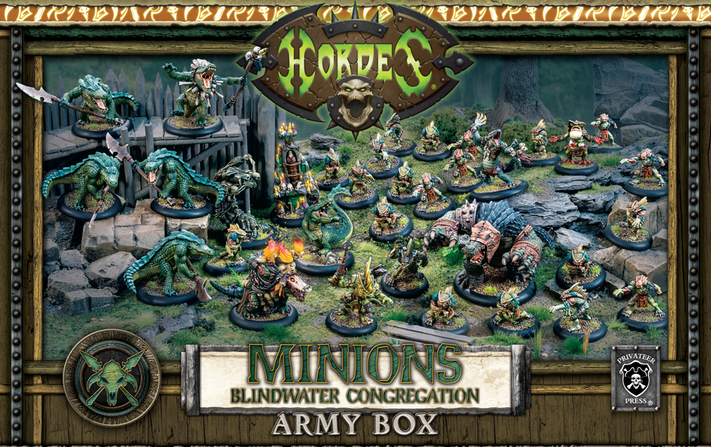 Hordes: Minions (75084): Blindwater Army Box [BUNDLE DEAL]