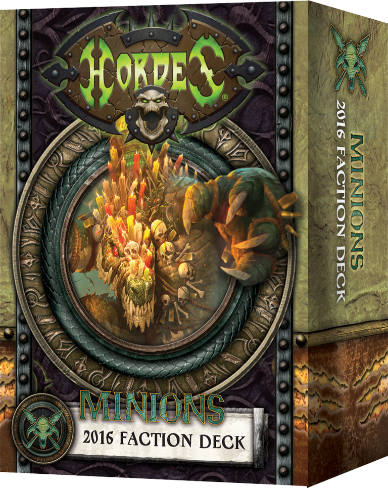 Hordes: Minions: MkIII Faction Deck