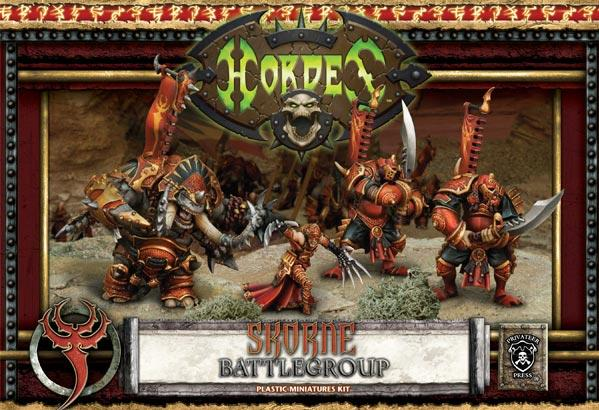 Hordes: Skorne (74001): Battlegroup