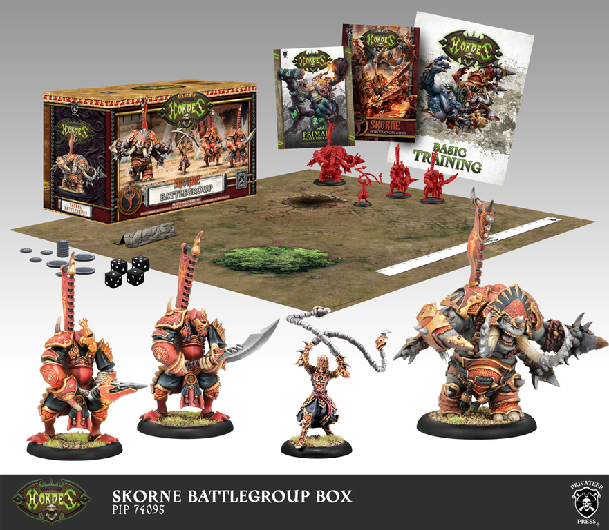 Hordes: Skorne (74095): Battlegroup (Plastic) NEW [SALE]