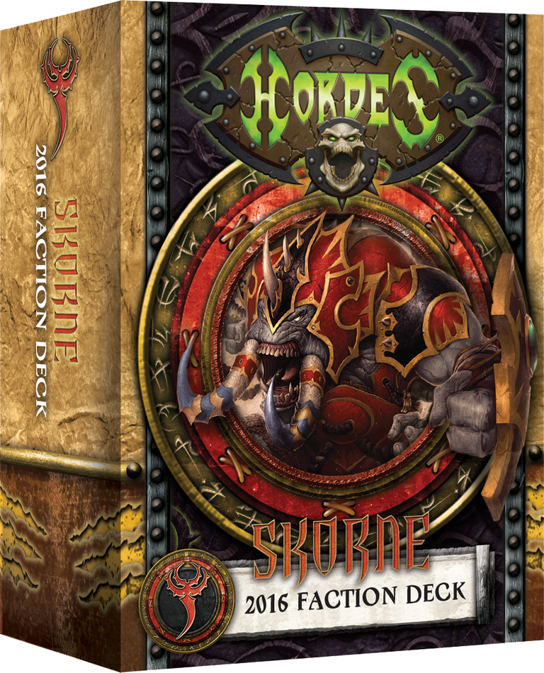 Hordes: Skorne: MkIII Faction Deck [SALE]