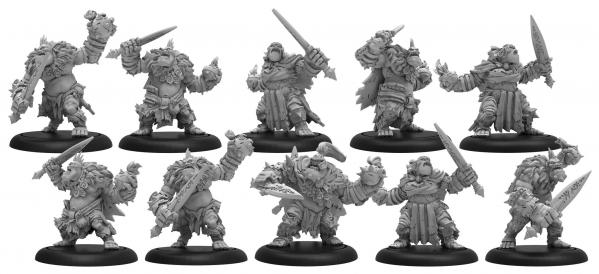 Hordes: Trollbloods (71110): Northkin Raiders - Trollblood Unit
