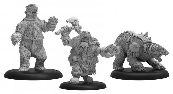 Hordes: Trollbloods (71109): Northkin Bear Handler & Battle Bears