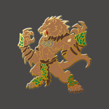 Hordes: Warpwolf Pin