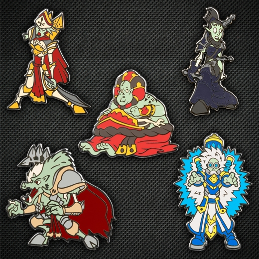 Hordes: Zombie Lylyth, Herald of Everblight Pin