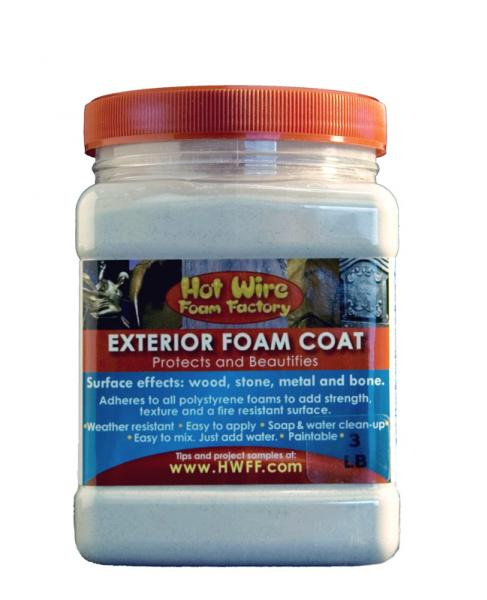 Hot Wire Foam Factory: Exterior Foam Coat