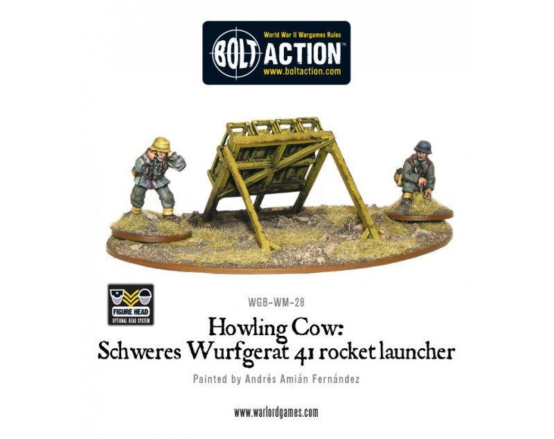 Bolt Action: German: Howling Cow: Schweres Wurfgerat 41 rocket launcher