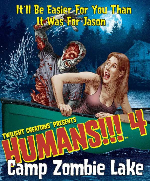 Humans!!! 4 Camp Zombie Lake (SALE)