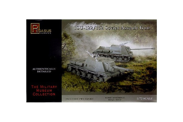 Pegasus Hobbies WWII 1/72: ISU-122/ 152 Soviet Assault Gun