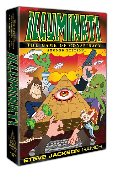 Illuminati: The Game of Conspiracy - Second Edition