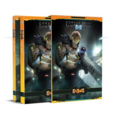 Infinity: N4 Core Rulebook [DAMAGED]