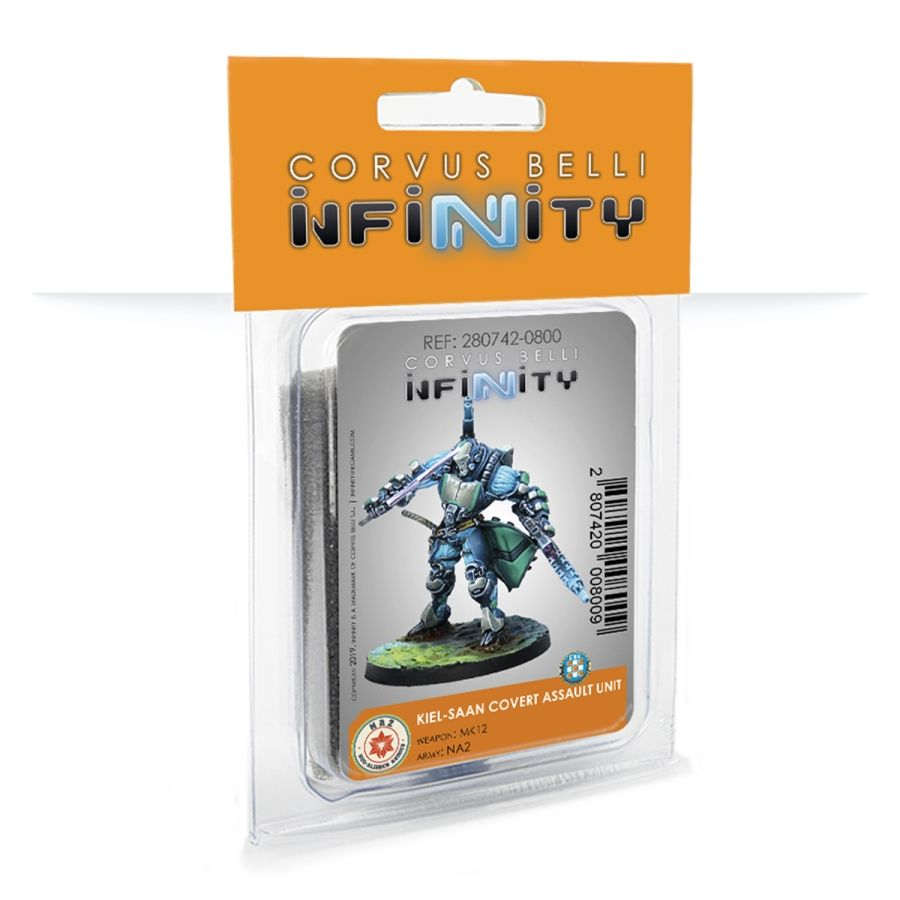 Infinity NA2 (#800): Kiel-Saan Covert Assault Unit (Mk12)