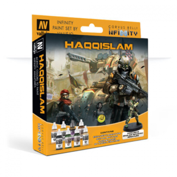 Infinity Paint Set By Vallejo: Haqqislam (w/Exclusive Miniature)
