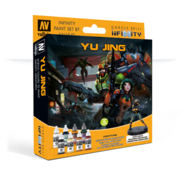 Infinity Paint Set By Vallejo: Yu Jing (w/Exclusive Miniature)