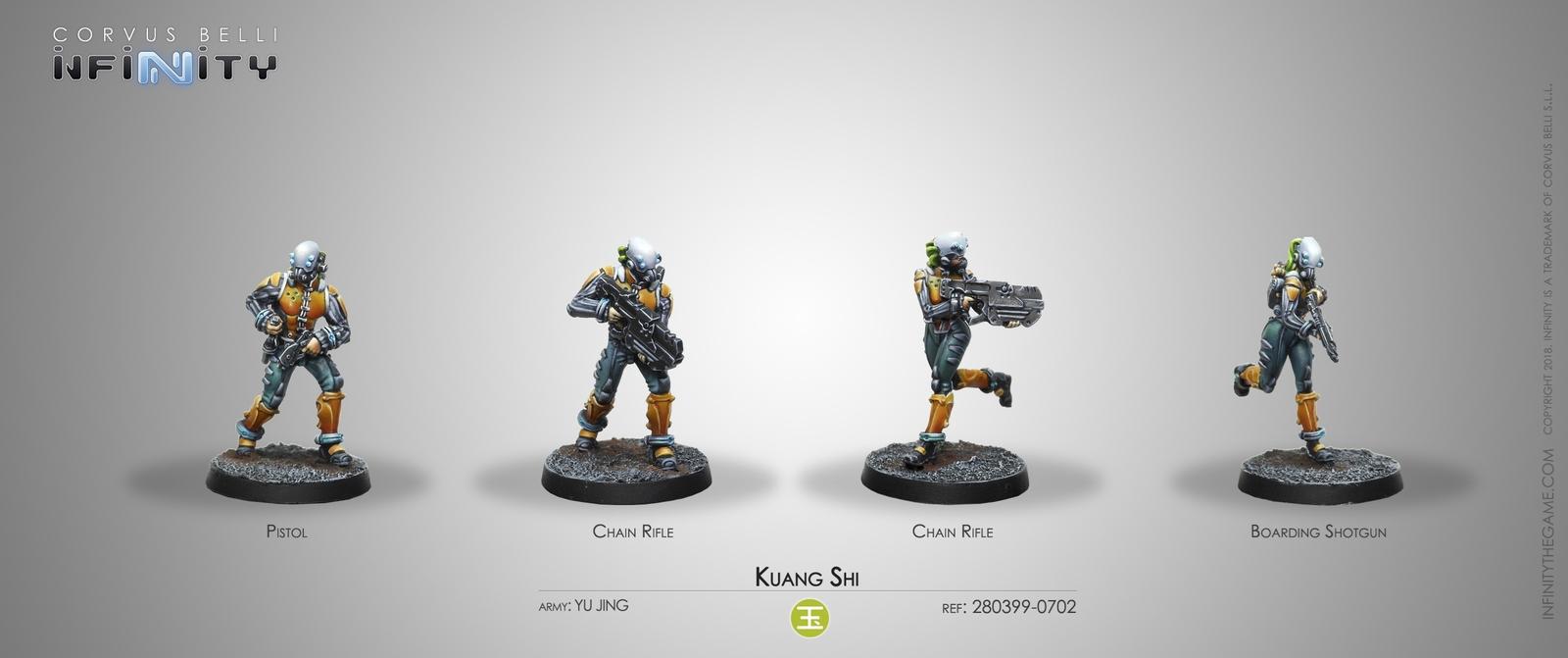 2 Hacker // HMG Corvus Belli Infinity Yu Jing: Hac Tao Special Unit #682