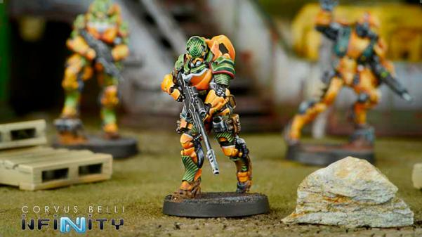 Infinity Yu Jing (#764): Hâidào Special Support Group (MULTI Sniper Rifle)
