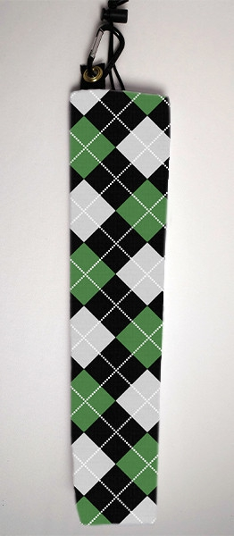 Inked Playmat Bags: Argyle Green-Black