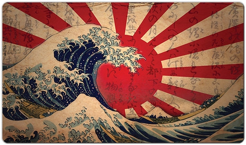 Inked Playmats: The Great Wave