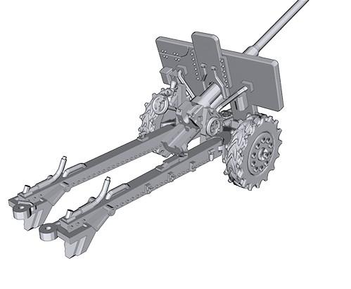 Iron Cross: Romanian 76mm M1936 (F22) Anti-tank Gun
