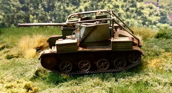 Iron Cross: Romanian TACAM T-60