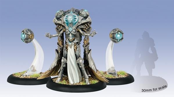 Warmachine: Convergence of Cyriss (36010): Iron Mother Directrix & Exponent Servitors