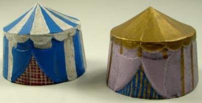 JR Miniatures: 28mm Medieval Terrain: Small Round Tent (2)