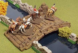 JR Miniatures: 28mm Medieval Terrain: Timbered Bridge