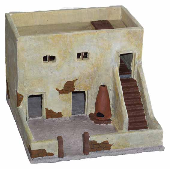 JR Miniatures: 28mm Old West Terrain: Hacienda