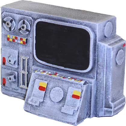 JR Miniatures - 28mm Sci-Fi Terrain: Control Panel (2) #JRM7021