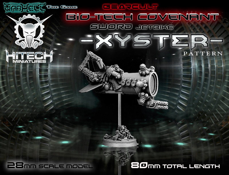 Warhell: Gearcult Bio-Tech Covenant- Jetbike XYSTER