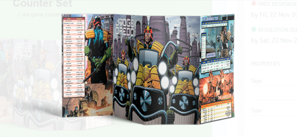 Judge Dredd & The Worlds of 2000 AD: GM Screen