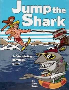Jump the Shark: A Storytelling Gambling Game (SALE)