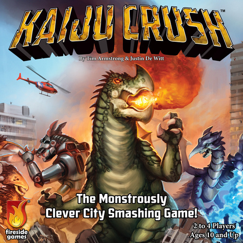 KAIJU CRUSH [Damaged]