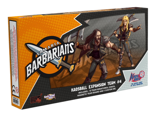 Kaosball: Team Expansion #4: Samaria Barbarians (SALE)