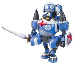 Keroro Gunso Model Kit: Dororo Robo MK2